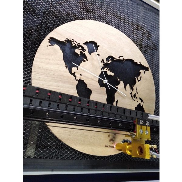 reloj mapamundi 40 cm