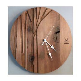 reloj de roble